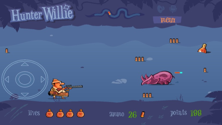 Hunter Willie: hunting adventure game screenshot-4
