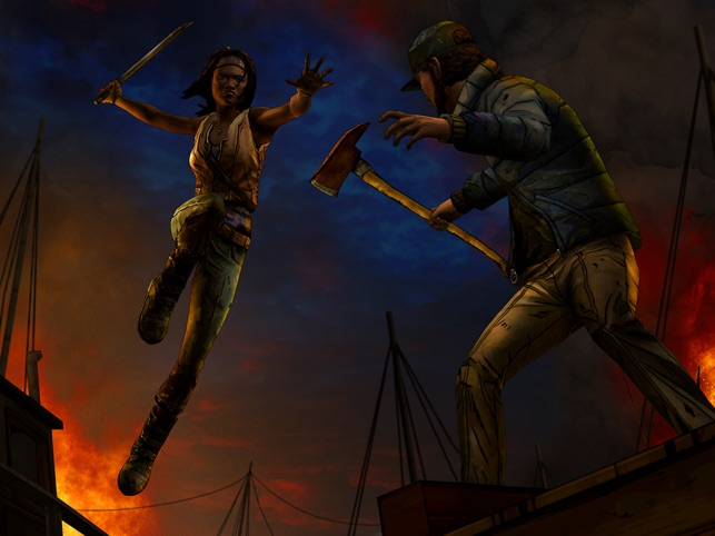 The Walking Dead: Michonne - A Telltale Miniseries Screenshot