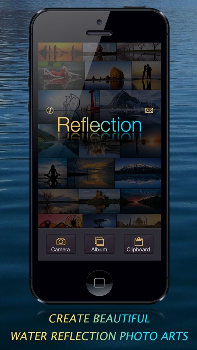 Reflection - Create Water Reflection Photo Arts Screenshot