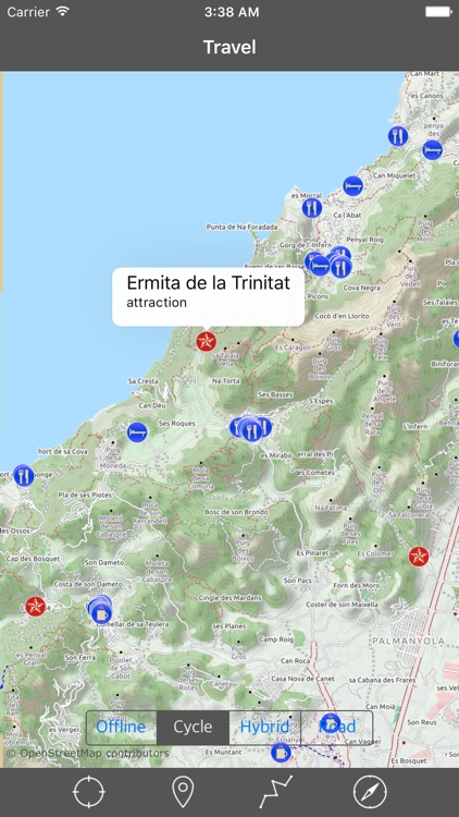 MAJORCA (MALLORCA) ISLAND – Travel Map Navigator screenshot-1