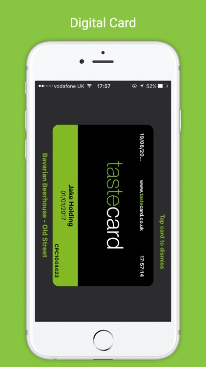 Tastecard | Restaurant Discounts | Dining Deals screenshot-4