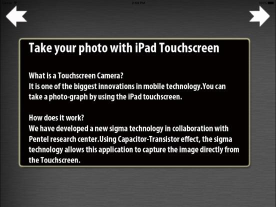 iTouchScreen Camera-ipad-0