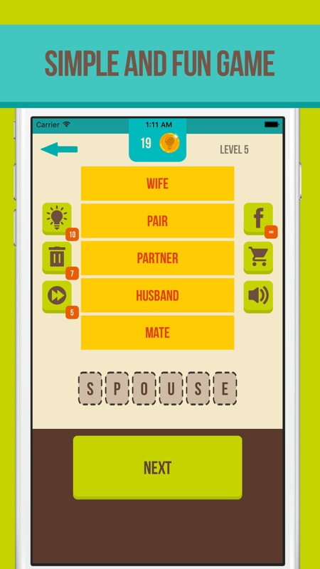 first look top quality factory outlet Guess the Word - 5 Clues - Online Game Hack and Cheat ...