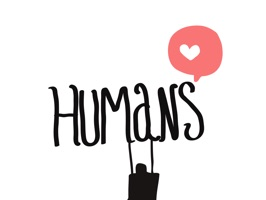 Humans Stickers