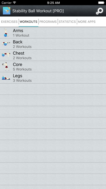 Exercise Ball Workouts & Stability Weighted Plans screenshot-4