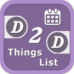 D2D ThingsList