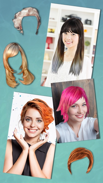 Hairstyles & haircuts Makeover photo editor -Pro screenshot-4