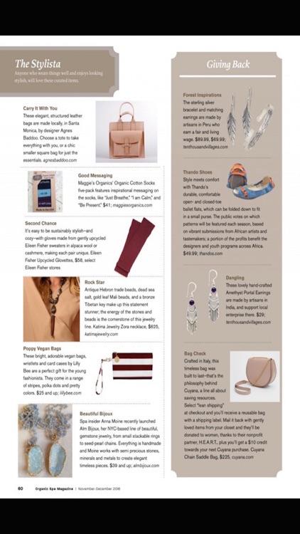 Organic Spa Magazine screenshot-3