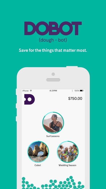Dobot - Save Money. Reach Your Goals.