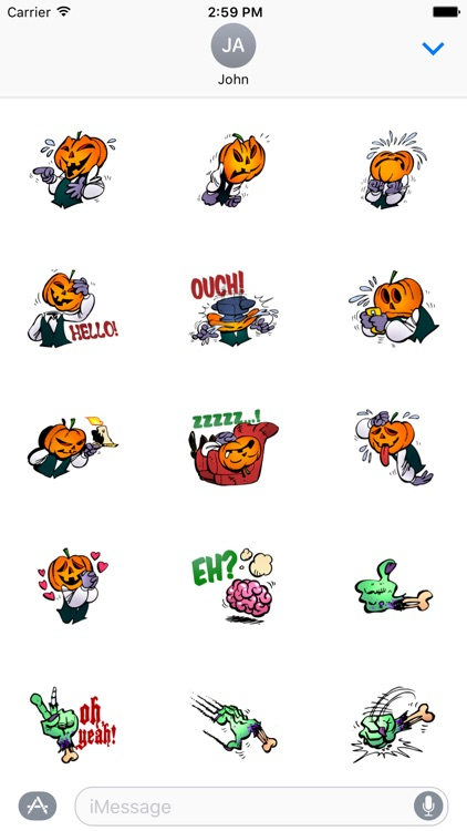 Halloween Sticker Pack For iMessages