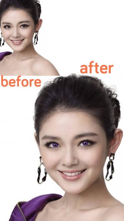 Eye color changer - Eye lens - Eye Makeup