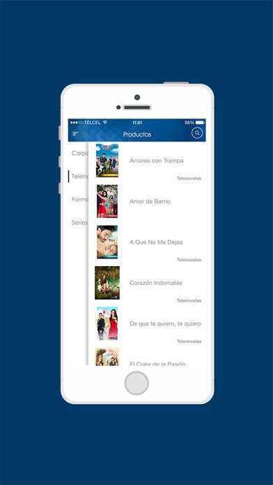 Televisa IntCaptura de pantalla de3