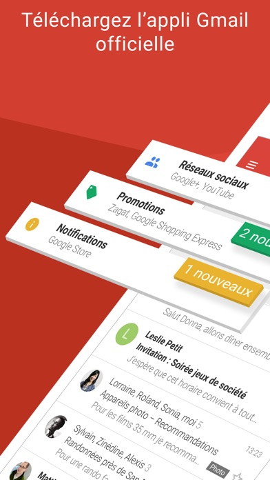 Screenshot for Gmail – l'e-mail Google in Lebanon App Store