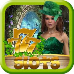 Yeux d'or Machines à sous irlandais : Trésors de la bobine ! Petit Casino de Leprechaun Patty