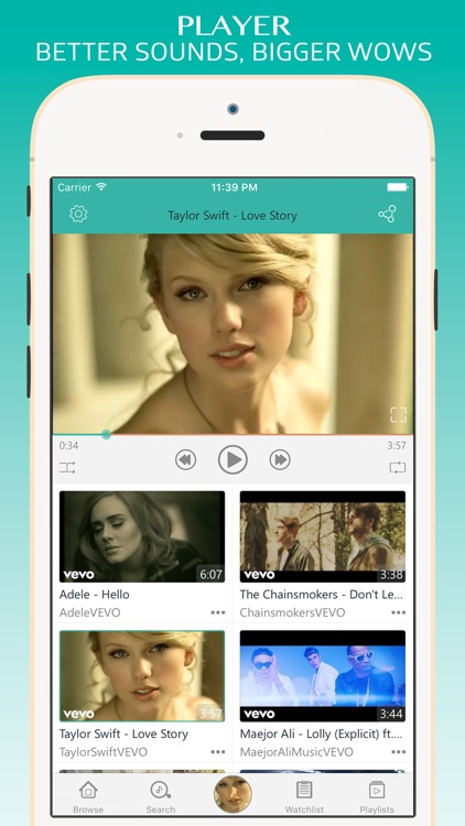 Turbodl - HD Video Music Player & Playlist Manager