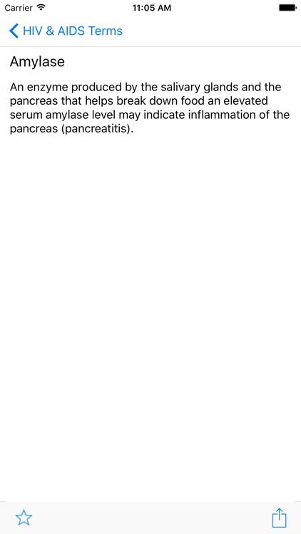 HIV & AIDS Terms - A Comprehensive Glossary screenshot-3