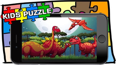 Dino Puzzle Game For Kid Free Jigsaw For Preschool screenshot two