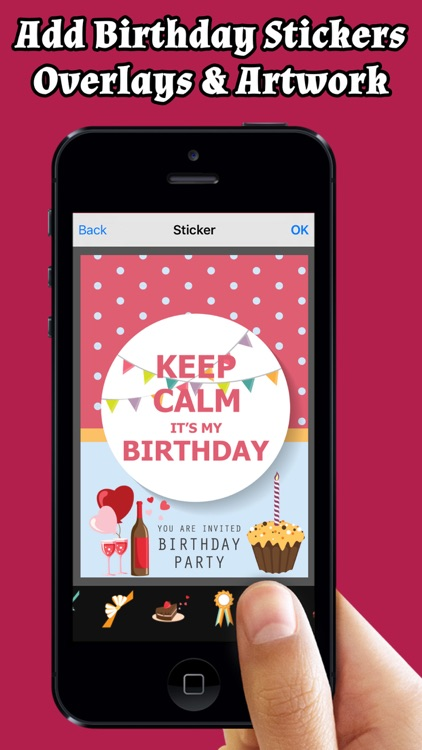 Happy Birthday Cards Greetings Free Screenshot 2