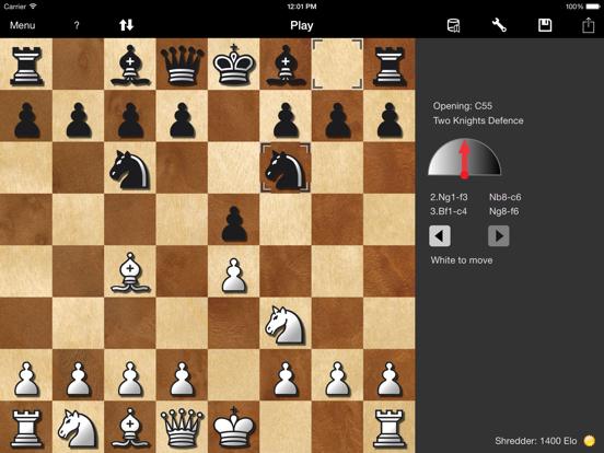 Shredder Chess for iPadのおすすめ画像1