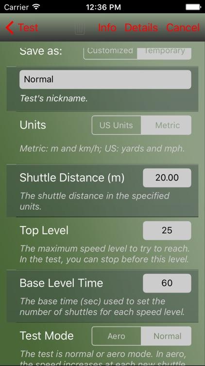 AeroExaminer - Aerobic VO2 Max Test & Conditioning screenshot-3