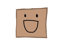 Cute emojis of a box