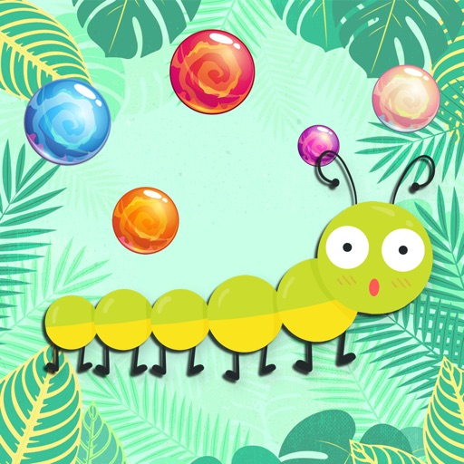 Bubble Shooting The Mega Worm Slither Game