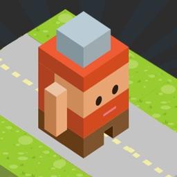 Blocky Road Runner