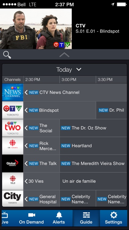 Bell Mobile TV screenshot-3