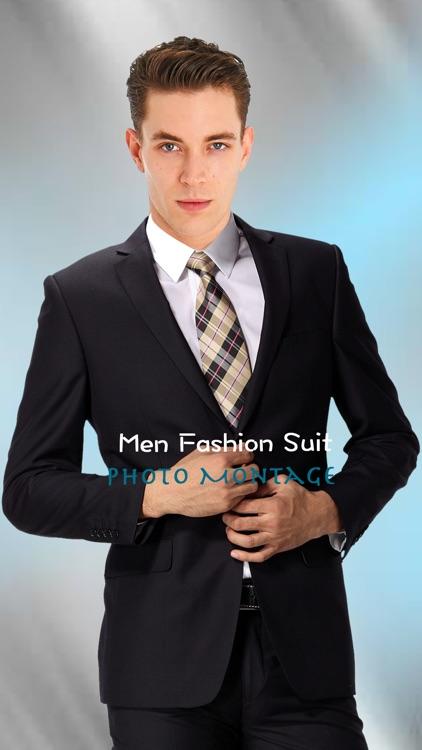 Men Fashion Suit Photo Montage