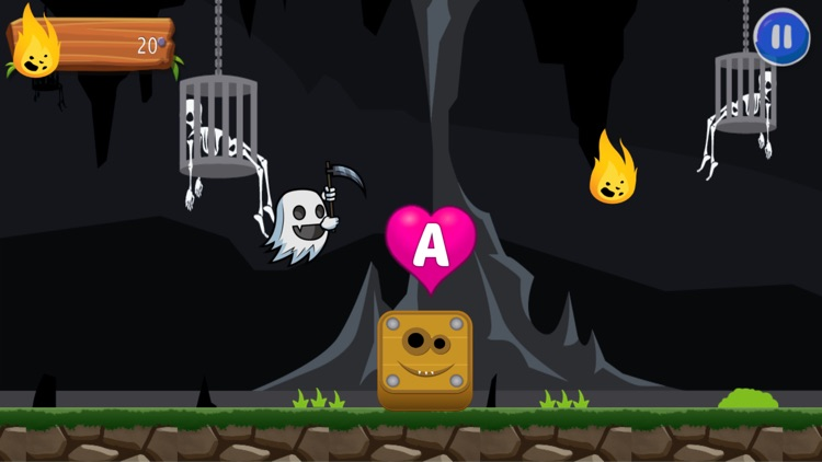 Flappy Ghost Adventure: ABC Run For Kid