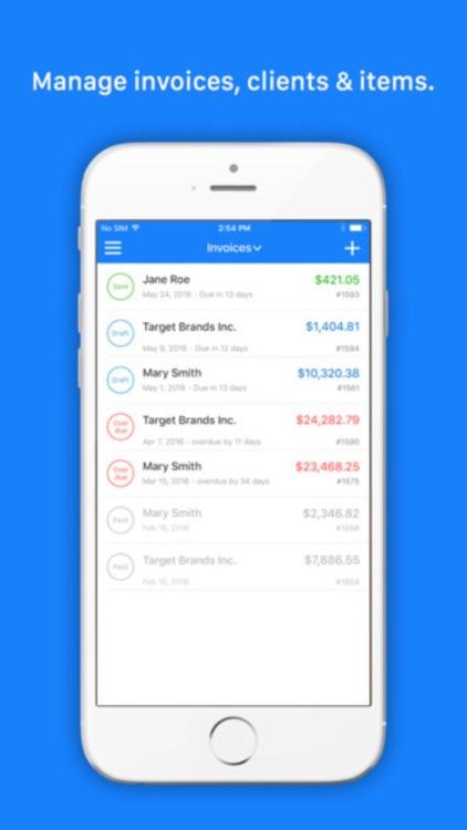 Invoice Go Pro - Invoice Maker & Estimate. Templates Bill on the go screenshot-3