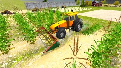 农业模拟器2017 PRO:农夫拖拉机收获 App 截图
