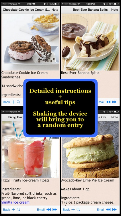 400 Icecream Recipes
