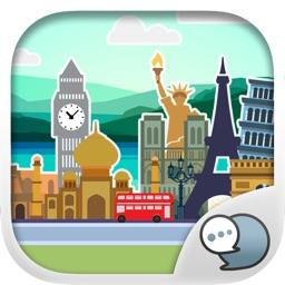 Architecture Stickers Keyboard Themes ChatStick