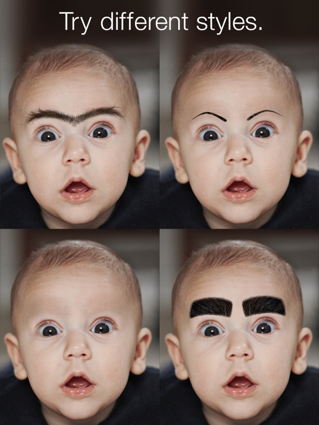 Browify Eyebrow Photo Booth On The App Store