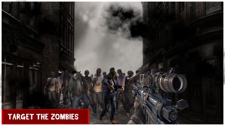 Z War In Modern Combat - Zombie Sniper Shooter screenshot-4