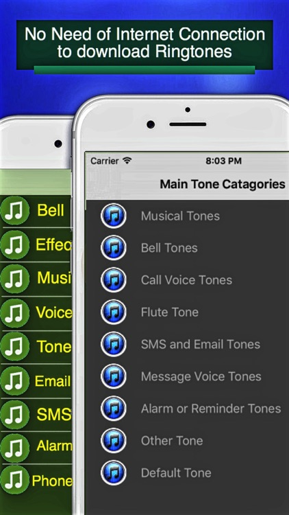 Tones - Ringtones for Phone, SMS, Email and Alarm