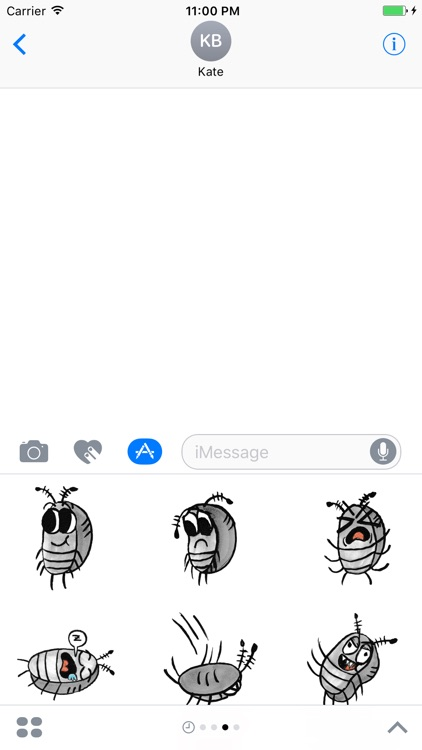 Sammy the Pillbug Stickers screenshot-3