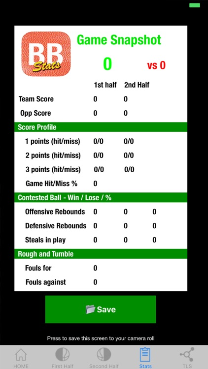 Basketball Stats screenshot-3