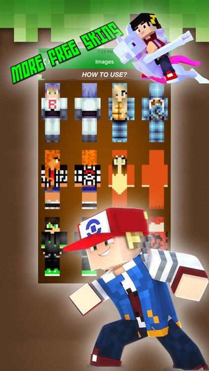 Pixelmon Skins For Minecraft Pocket Edition & PC