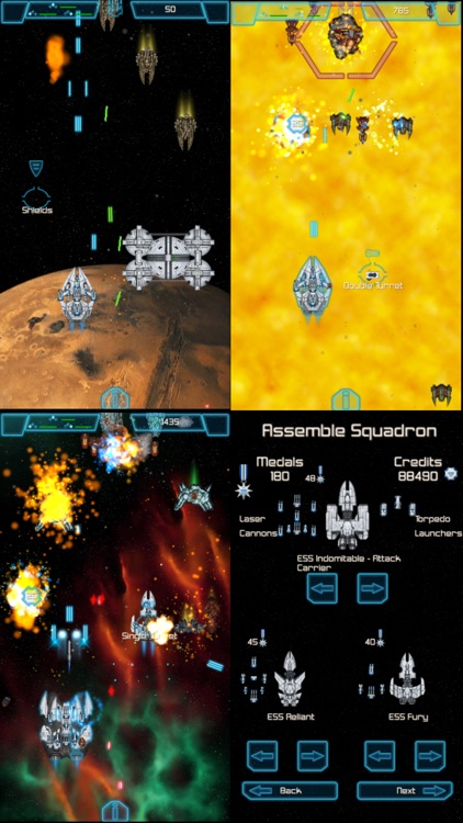 The Last Squadron - Battle for the Solar System screenshot-4