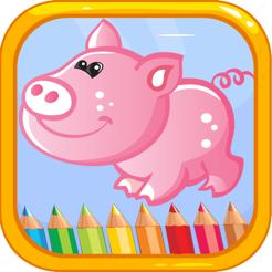 Hayvan Boyama Kitabi Kids Icin Aktiviteler Boya App Store Da