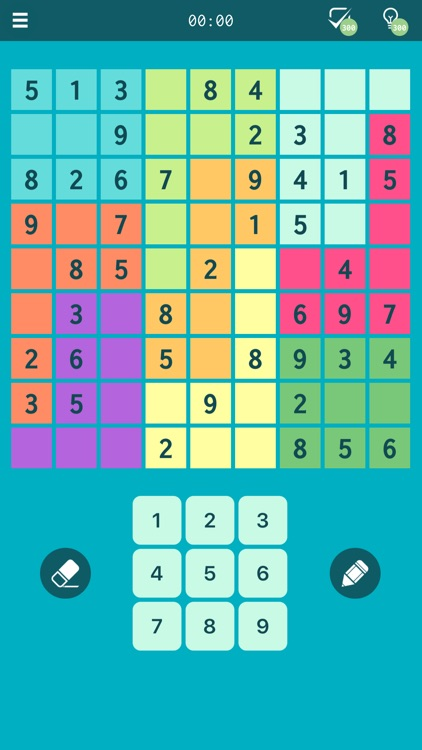 Sudoku Jigsaw Puzzle screenshot-1