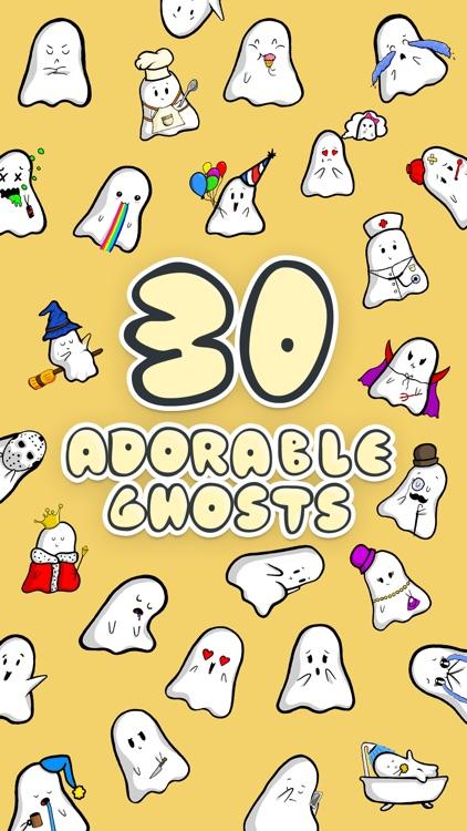 Spookie - Cute Halloween Sticker Ghost