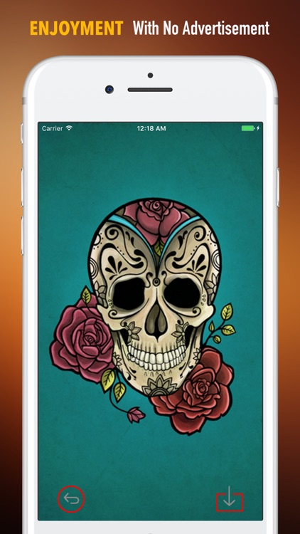 Sugar Skulls Wallpapers HD|Quotes,Art Pictures screenshot-1
