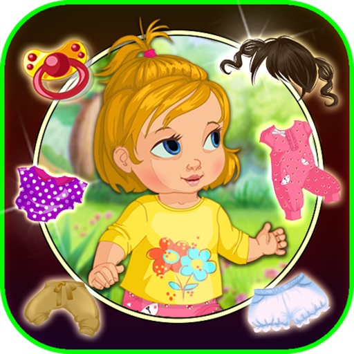 My cute baby dress up game - new dress up style for girls and boys icon