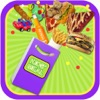 School Lunch Food Meal Maker - Candy, Burger, Toys