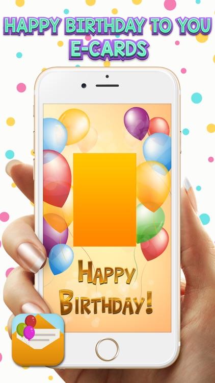 Happy Birthday To You E Cards Screenshot 2