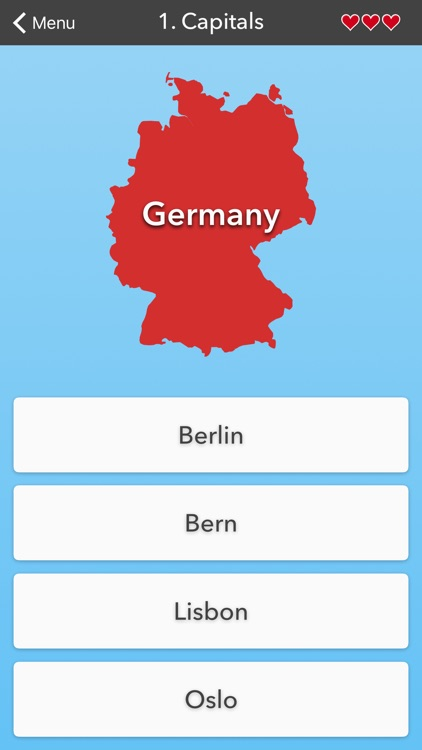European Countries • Flags, Capitals and Map Quiz by ...
