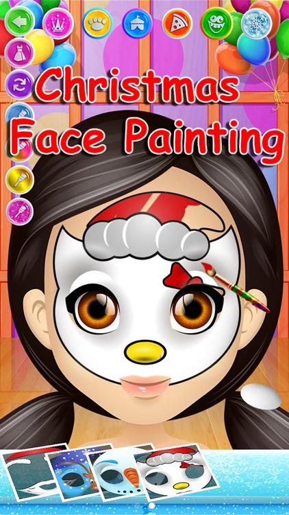 Carnival Face Paint - Kids Salon & Christmas Games screenshot-3